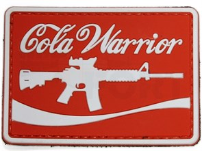 Нашивка Badband PVC Cola warrior