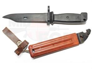 Штык-нож резиновый DS ШН АК 6х4 с ножнами