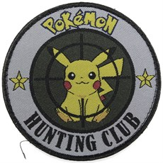 Нашивка Badband Pokemon hunting club
