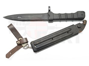 Штык-нож резиновый DS ШН АК 6х5 с ножнами
