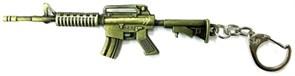 БРЕЛОК КАРАБИН M4A1 / GOLD EDITION