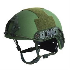 Fast Helmet with rails NIJ IIIA OD