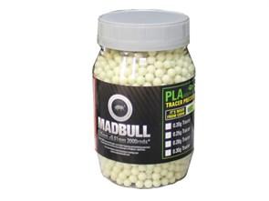 Шары трассерные MadBull 0.25 зеленые 2000шт