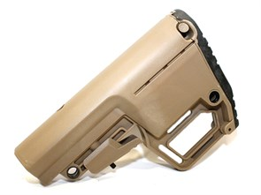 Приклад телескопический для М4 Emerson MFT Style BUS Stock тан