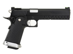 Пистолет газовый KJW Colt 1911 Hi-Capa 6 блоубек, металл, CO2