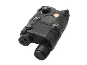 Комплекс тактический репл. PEQ-15 FMA Upgrade Version фонарь, зеленый ЛЦУ, ИК-режим / черный