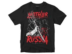 Футболка Mother Русский бунт черный