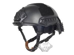 Шлем FMA реплика FAST Ballistic High Cut Black L/XL