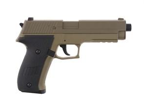 Пистолет электро Cyma SigSauer P226 тан /CM122TN