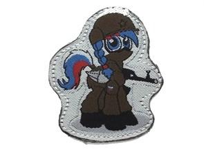 Нашивка Badband Вежливая пони