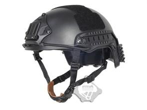 Шлем FMA реплика FAST MH TYPE черный M/L