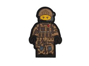 Нашивка MSM PVC Lego Army пустныный