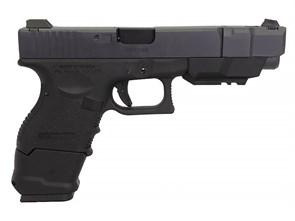Пистолет газовый WE Glock 33 gen.3 блоубек, металл, грин-газ