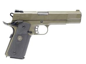 Пистолет газовый WE Colt 1911A1 MEU тан, блоубек, металл, грин-газ
