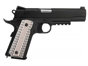 Пистолет газовый WE Colt M45A1 блоубек, металл, грин-газ