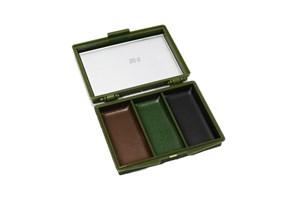Грим камуфляжный Face Paint 3 цвета в коробке с зеркальцем