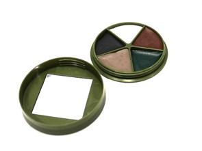 Грим камуфляжный Face Paint 5 цветов в коробке с зеркальцем