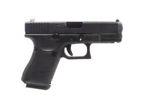 Пистолет газовый WE Glock 19 gen.5 блоубек, металл, грин-газ