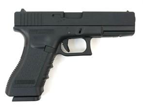Пистолет газовый KJW Glock 17 резьб. п/глушитель, металл, грин-газ