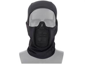 Балаклава с сетчатой маской WST Shadow Fighter черная