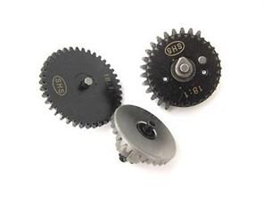 Шестерни стальные SHS 18:1 V2 базовые, с антиреверсом и моторной О-образной шестерней