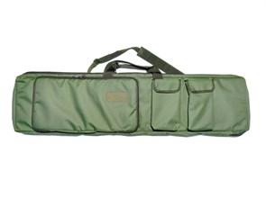 Чехол оружейный TA с подсумками и рюкзачн.лямками 120см олива