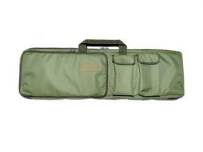 Чехол оружейный TA с подсумками и рюкзачн.лямками 100см олива