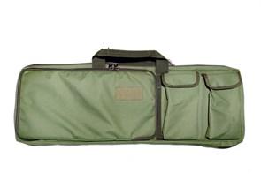 Чехол оружейный TA с подсумками и рюкзачн.лямками 85см олива