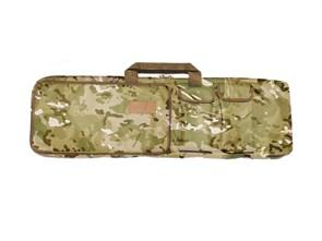 Чехол оружейный TA с подсумками и рюкзачн.лямками 100см мультикам