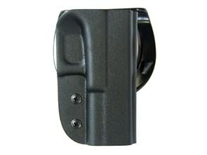 Кобура Stich Ptofi пластиковая Glock 17 №24 с быстросъемным креплением / Черный
