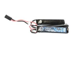 Аккумулятор 11.1В 2200мАч 3-разд LiPo 20С BlueMax мини-разъем /102*20*10