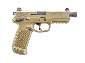 Пистолет газовый Tokyo Marui FNX-45 ТАН блоубек, грин-газ