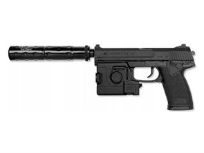 Пистолет газовый Tokyo Marui MK23 SOCOM Fixed Slide Full Set