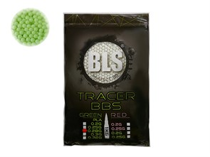 Шары трассерные BLS 0.28 зеленые 3500шт /1кг