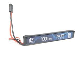 Аккумулятор 7.4В 1200мАч мини-тип LiPo BlueMax 20С мини-разъем / 128*21*13