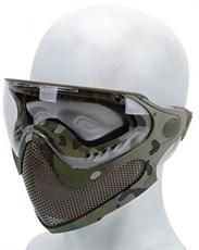 Маска защитная полнолицевая WST Pilot мультикам