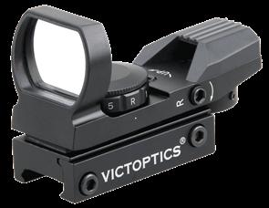 Прицел коллиматорный VictOptics открытый 4 марки 1x23x34