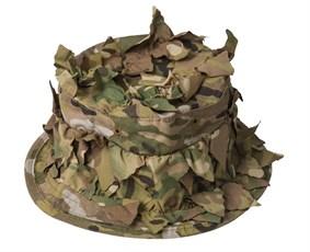 Панама летняя маскировочная с листьями Stich Profi