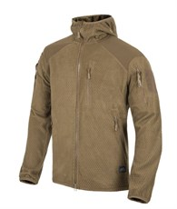 Куртка Helikon Alpha Hoodie Jacket Grid Fleece