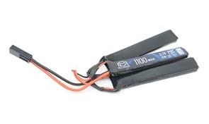 Аккумулятор 11.1В 1100мАч 3-разд LiPo 20С BlueMax мини-разъем /102*21*15