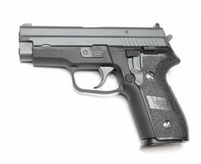 Пистолет газовый WE SigSauer P-229 блоубек, металл, грин-газ /E-F005A