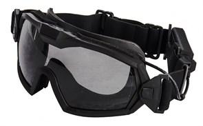Очки тактические WST с вентилятором черный