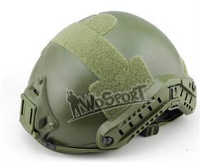 Шлем WST реплика FAST MH-type олива L/XL