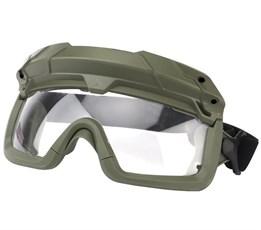 Очки тактические WST с креплением на шлем олива