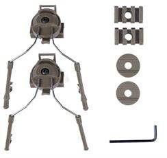 Крепления для наушников Comtac на шлем WST / тан
