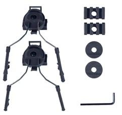 Крепления для наушников Comtac на шлем WST / черный