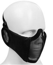 Маска на нижнюю часть лица и уши WST ткань/сетка черный