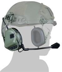 Гарнитура активная на шлем WST HD-11 ген.5 олива