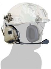 Гарнитура активная на шлем WST HD-11 ген.5 тан