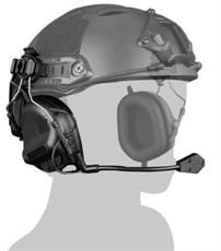 Гарнитура активная на шлем WST HD-11 ген.5 черный